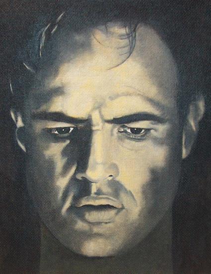 Marlon Brando by mario
